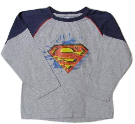 ebf42721c2c Tričko s dlouhým rukávem Superman-vel.110